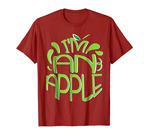 Halloween Apple Costume Funny T-shirt Men Women Humor Gift -