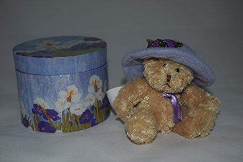 Avon Bear - Avon Plush Teddy Bear in Purple Hat