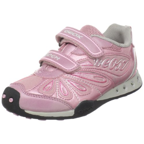 Geox Toddler J Jocker Sneaker,Dark Pink,34 EU (3 M US Little Kid)