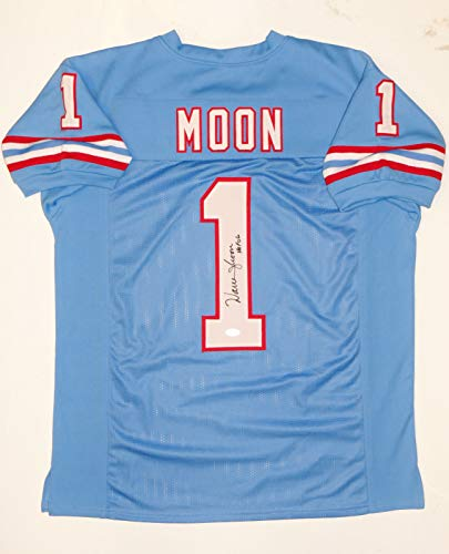 Warren Moon Autographed