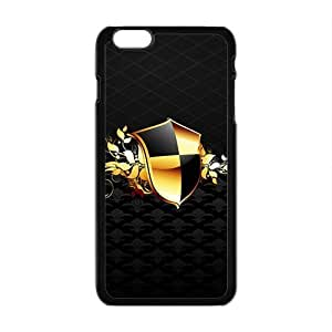 LJF phone case Black Fashion Shield Custom Protective Hard Phone Cae For Iphone 6 Plus