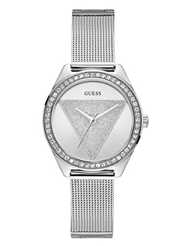 GUESS Women's Quartz Stainless Steel Watch, Color:Silver-Toned (Model: U1142L1)