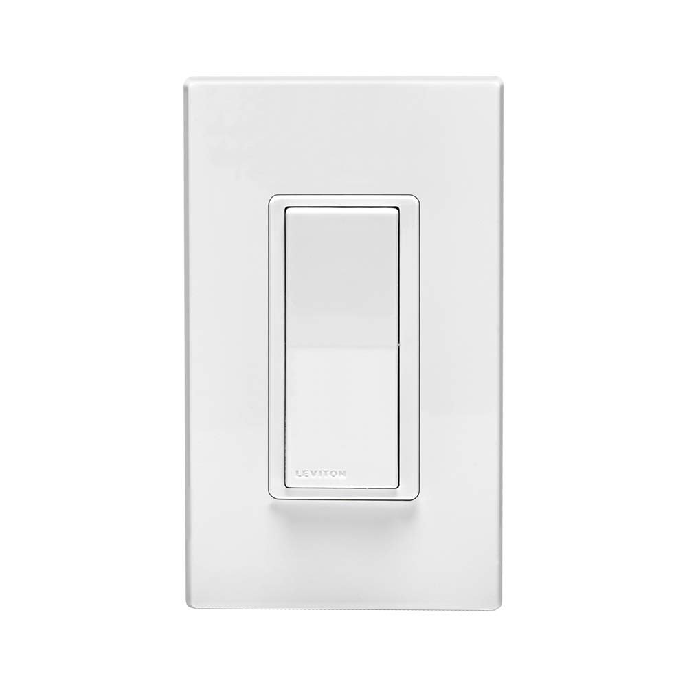 Google Assistant and Nest No Hub Required Leviton DW6HD-1BZ Decora Smart Wi-Fi 600W Incandescent//300W LED Dimmer Works with Alexa
