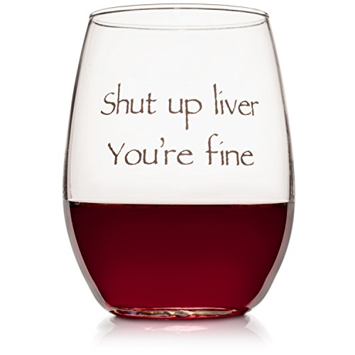 Wedding Wine Gift - Funny Stemless wine glass (15 oz) - Great for Bachelorette Parties - Unique Wine Glasses - Restaurant Quality for Red or White Wine - A fun Gift for Any Wine Lover by WineLolz (Image #5)
