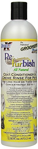 Groomers Edge - Groomer's Edge Re-Fur-Bish Pet Conditioner, 16-Ounce