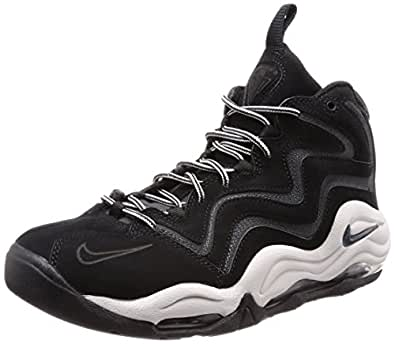 newest 5f546 583ae Image Unavailable. Image not available for. Color  Nike Air Pippen Men s  Shoes Black Anthracite-Vast Grey 325001-004 ...