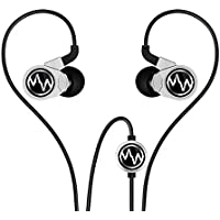Macaw GT100S Hi Fi Earbuds,In-ear Headphones with Microphone Silver