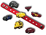 Cute Jibbitz Shoe Charms PVC Plug by Nenistore|Accessories for Crocs Shoes & Bracelet Wristband Party Gifts |Cars (7pcs) FREE 01 Silicone Wristband 7 Inches
