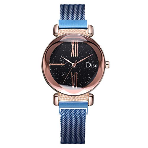 - Fenleo Ladies Fashion Sky Wrist Watch Women's Waterproof Casual Watches
