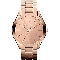 Michael Kors Watches Slim Runway Watch, Casual, 42 mm, Rose gold