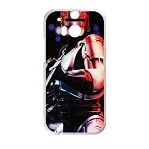 Robo Cop HTC One M8 Cell Phone Case White Phone cover Y4450992
