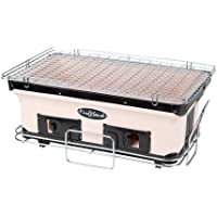 Fire Sense Large Yakatori Charcoal Grill and Stand