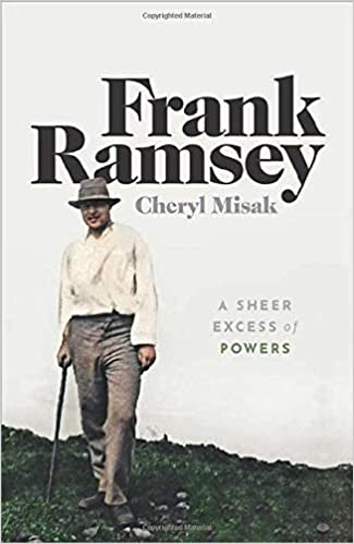 Book Cover for Frank Ramsey: A Sheer Excess of Powers