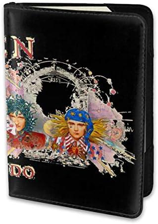 Music Queen Rock Music Innuendo クイーン パスポートケース メンズ レディース パスポートカバー パスポートバッグ 携帯便利 シンプル ポーチ 5.5インチ PUレザー スキミング防止 安全な海外旅行用 小型 軽便