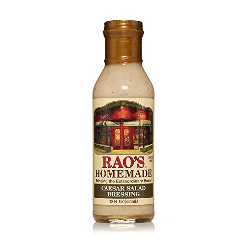 Rao's Specialty Foods, Caesar Salad Dressing, 1 Pack, Classic, Creamy Blend of Parmesan Cheese and Anchovies Flavored with Bleu Cheese, Lemon Juice, and Spices, Great for Grilled Chicken