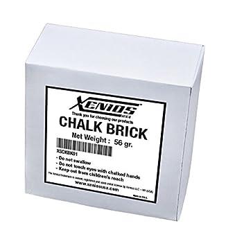 Xenios USA XSCKBK01 Chalk Brick -Magnesio para Entrenamiento, Halterofilia, WOD
