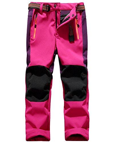 Jessie Kids Outdoor Hiking Soft Shell Windproof Pants