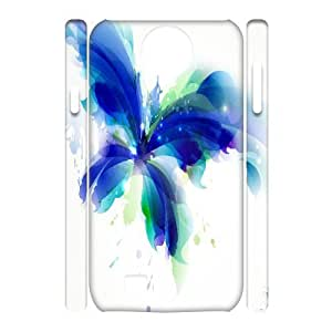 C-Y-F-CASE DIY Design Colorful Flower Butterfly Pattern Phone Case For Samsung Galaxy S4 i9500