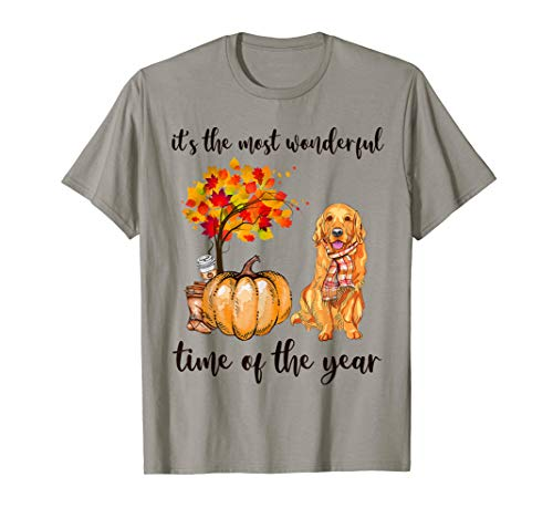It's the most wonderful time of the year golden retriever T-Shirt