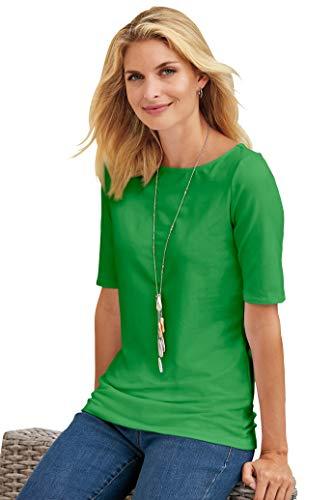 (Chadwicks of Boston Elbow Sleeve tee Shirt for Women   Womens T Shirts)