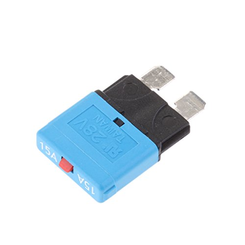 28V 15A Manual Reset Low Profile ATC Circuit Breakers Resettable Mini Blade Fuse for Car Truck Auto Marine Rally ATO Replacement Part by Unknown (Image #4)