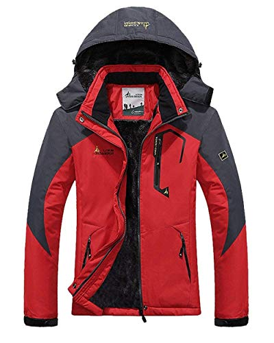 Giacca Joggers Donna Outerwear Invernali Casualei Rosso Manica Lunga Antivento Cappotto Outdoor Fashion Jacket Cerniera Giacche Con Pureed Chic Impermeabile Camping Autunno Sci IFWCHqqOw