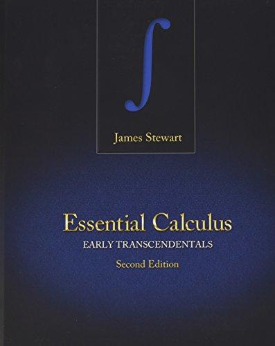 Bundle: Stewart, Essential Calculus: Early Transcendentals, 2nd (hardound) + WebAssign Printed Access Card for Stewart's