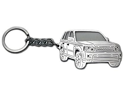 Llavero de acero inoxidable apto para Range Rover Sport i ...