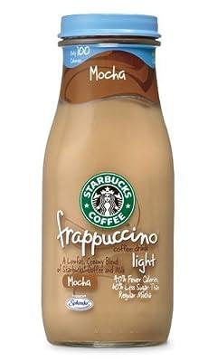 Starbucks Coffee Frappuccino Coffee Drink, Mocha Lite - 9.5 Oz (pack of 12)