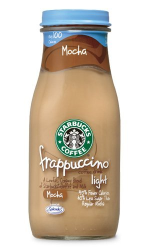 Starbucks Coffee Frappuccino Coffee Drink, Mocha Lite - 9.5 Oz (pack of 12) by Starbucks