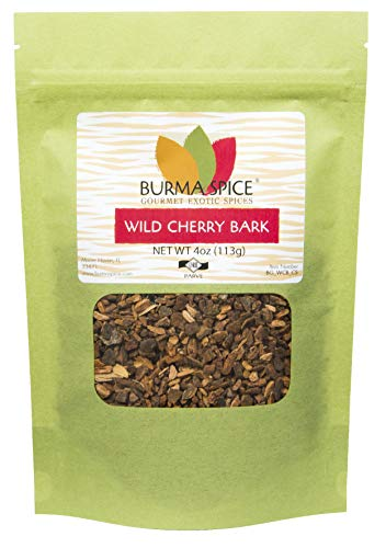 Wild Cherry Bark Herb : Use to make tea and syrups. Kosher -