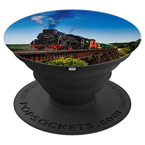 Locomotive Train Popsocket - PopSockets Grip and Stand for Phones and Tablets ()
