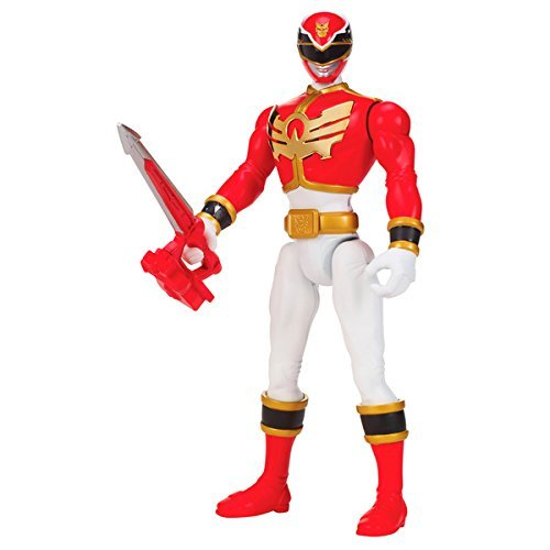 Power Rangers Megaforce Deluxe SFX Mega Red Ranger]()