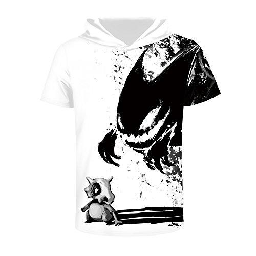 Zegoo 3D Printed Hip Hop 3D T-Shirts Hooded Cheap Sweatshirts for Teen Girls by Zegoo