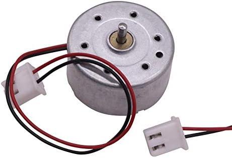 LIFANG 1個の新しい0.5〜12 V DCメタルミニチュアファンモーターオーディオ機器の 玩具ゲーム機ロボット測定装置のモーター (Color : 2400, Size : 0.5 12V)