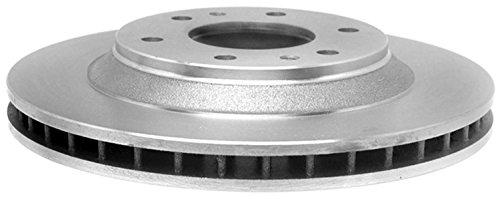 (ACDelco 18A1119A Advantage Non-Coated Front Disc Brake Rotor)