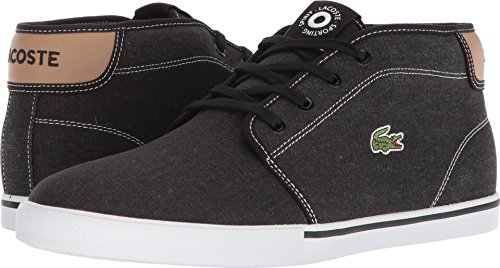 Lacoste Mens Ampthill 118 1 Black / Light Tan