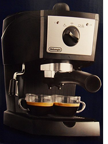 Delonghi EC153.B Espresso and Cappuccino Maker, 220V- Not for Use in the USA by DeLonghi