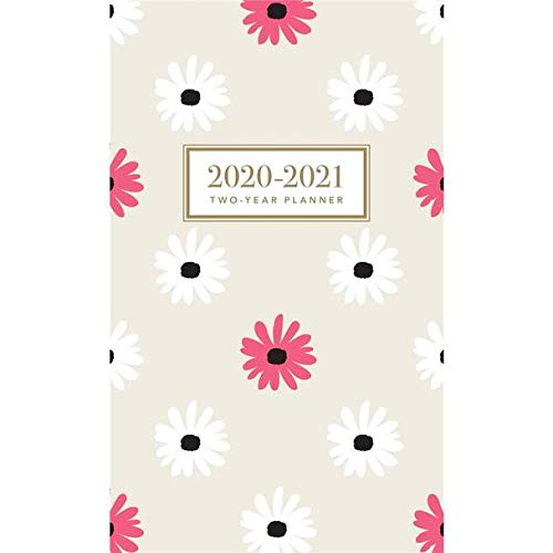 """Graphique 2020 OH So Chic 2 Year Planner - 29-Month Planner in 4 Languages, Includes Notes, Reference Pages, Public and Culturally Significant Holidays, 3.75"""" x 6"""""""