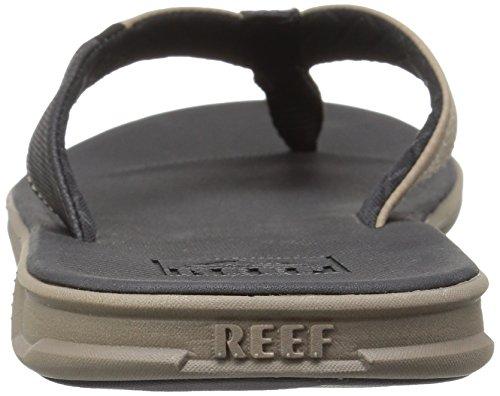 Reef Herren Slammed Rover Black/Tan Zehentrenner Mehrfarbig (Black/Tan Bta)