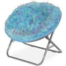 Faux Fur Papasan Chair