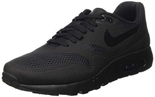 Nike Herren Air Max 1 Ultra Essential Low-Top Schwarz (black/black-black)