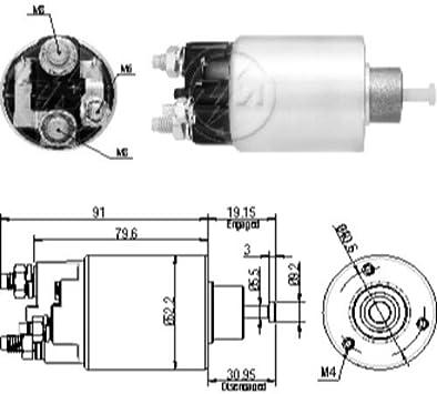 delco starter schematic amazon com new starter solenoid relay for corsa c delco remy  new starter solenoid relay for corsa c