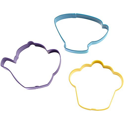 Shindigz Tea Party Colored Metal Cutter ()