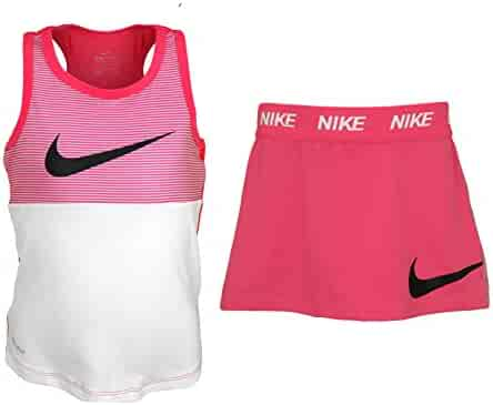 25e9cd83be Nike Toddler Girls Swoosh Squad Graphic Tee & Athletic Bottom Set - Racer  Pink (4T