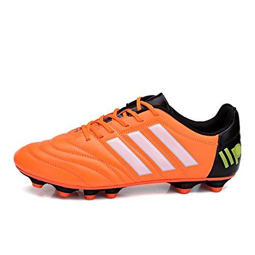 XING Lin Fußball Schuhe Youth Nagelkleber Nail Kunstrasen Damen und Herren Fußball Schuhe Orange