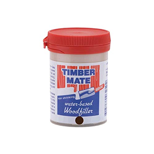 (Timbermate Rok Hardware Walnut 8-Ounce Water-Based Wood Filler)
