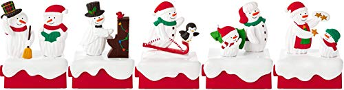 - Hallmark 2018 Snow Many Memories Set of 5 Snowmen
