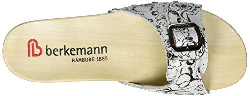 Berkemann Hamburg - Mules Mujer Weiß (mohn)