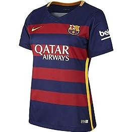 Nike Football Club Barcelone Domicile 2015/2016-Maillot Officiel pour Femme